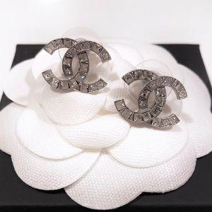 Chanel Classic Crystal Moscova Earrings